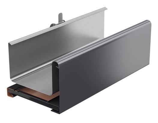 Rynny kwadratowe - maskownica kwadratowa - system rynnowy Galeco STAL 2