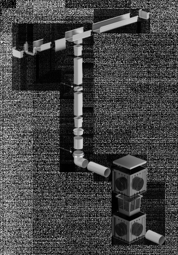 невидимая водосточная система